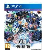 PS4 JEU World of Final Fantasy Tunisie
