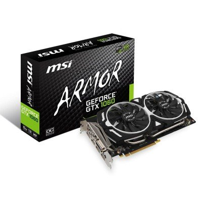 carte graphique msi geforce gtx 1060 armor 6g chez wiki. Black Bedroom Furniture Sets. Home Design Ideas