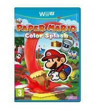 WII U JEU Paper Mario : Color Splash Tunisie