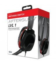 casque chat afterglow noir lvl1 - switch Tunisie