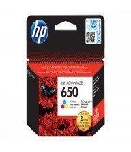 Cartouche authentique d'encre tri-couleur HP 650 Tunisie