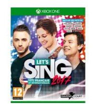 XBOX ONE JEU Let's Sing 2017 : Hlts Francais et Internationaux + 2 micros Tunisie