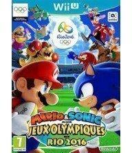 WII U JEU Mario & Sonic aux Jeux olympiques de Rio 2016 Tunisie
