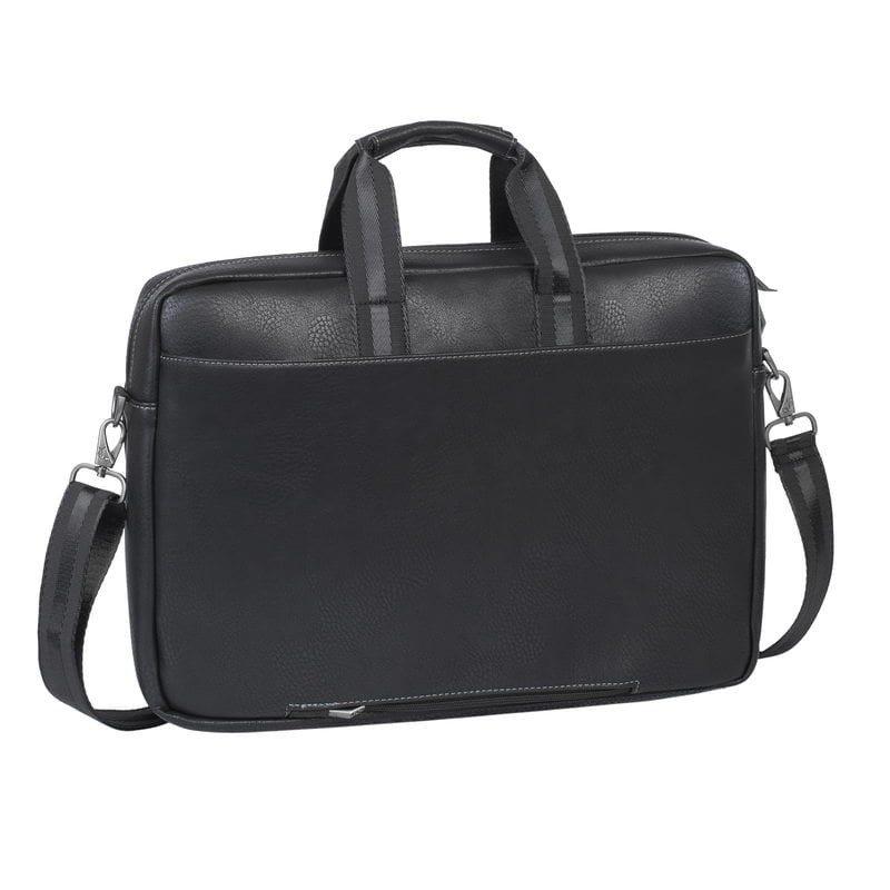 sacoche cuir pour ordinateur portable 16 rivacase 8940. Black Bedroom Furniture Sets. Home Design Ideas