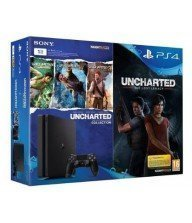 CONSOLE PS4 SLIM 1TO + UNCHARTED COLLECTION(Drake's fortune+among thieves+l'illusion) + UNCHARTED THE LOST LEGACY Tunisie