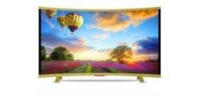 """Téléviseur VEGA 32"""" LED HD Curved - Gold"""