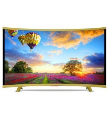 "Téléviseur VEGA 32"" LED HD Curved - Gold"