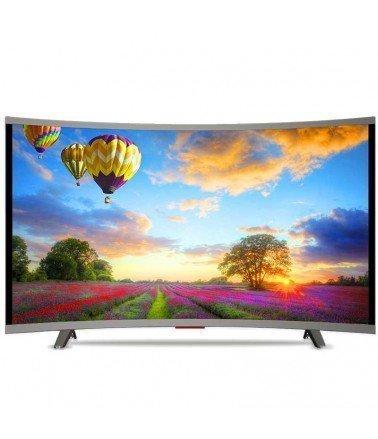 "Téléviseur VEGA 32"" LED HD Curved - Silver"