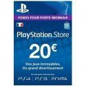 Carte playstation gaming PS4 Store -20€