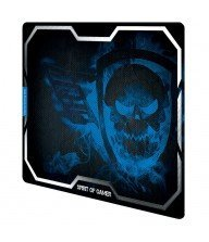 Tapis souris gaming Spirit of gamer smokey skull bleu Tunisie
