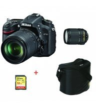 Appareil photo Nikon D7100 + objectif AF-P DX18-55 VR +Saccoche+SD Extreme SanDisk 32Go