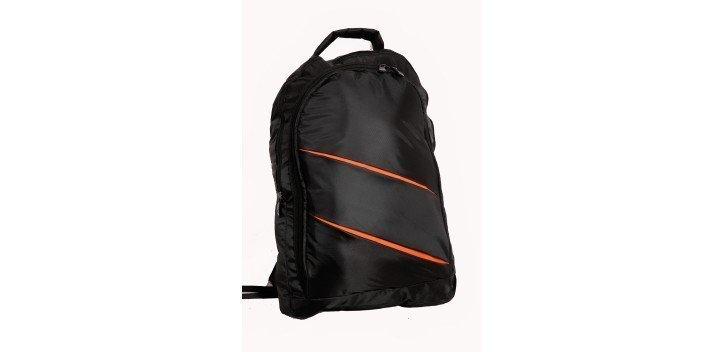sac dos pour pc portable 15 6 noir orange chez wiki tunisie. Black Bedroom Furniture Sets. Home Design Ideas