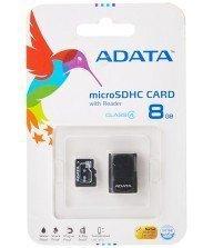 Carte Mémoire ADATA 8GB avec Adaptateur Micro SD Tunisie
