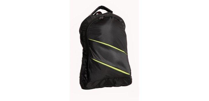 sac dos pour pc portable 15 6 noir vert chez wiki tunisie. Black Bedroom Furniture Sets. Home Design Ideas