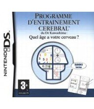 JEU PROGRAMME CEREBRAL 3DS Tunisie