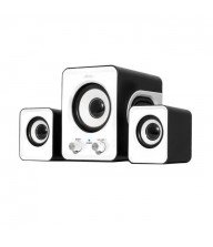 Haut parleur Advance soundphonic 2.1 usb 6w blanc Tunisie