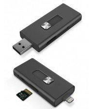 Lecteur Micro SD KSIX USB pour IPHONE Tunisie