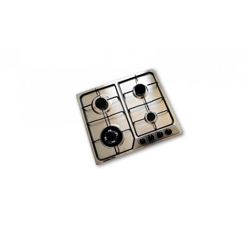 plaque de cuisson g n ral gold gaz 4 feux inox chez wiki tunisie. Black Bedroom Furniture Sets. Home Design Ideas