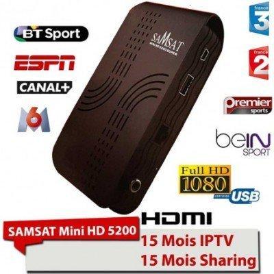Mini récepteur SAMSAT 5200 super plus Tunisie