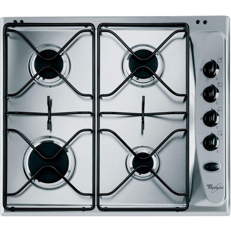 plaque de cuisson whirlpool 4 feux akm 250 inox chez. Black Bedroom Furniture Sets. Home Design Ideas