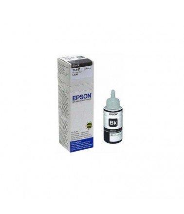 Bouteille d'encre Epson T6641 Noire 70 ml