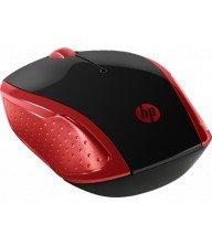 Souris sans fil HP 200 Rouge