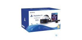 Playstation VR + Caméra PlayStation V2 +jeu VR WORLDS (VOUCHER) PS4
