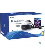 Playstation VR + Caméra PlayStation V2 + jeu PlayStation VR Worlds Tunisie