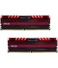 Barette mémoire TEAM GROUP DELTA RGB BLACK DDR4 8Gox2 2400 Mhz Tunisie