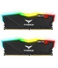 Barette mémoire TEAM GROUP DELTA RGB BLACK DDR4 16Gox2 2400 Mhz Tunisie