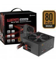 ALIMENTATION SEMI-MODULAIRE SHARKOON WPM 600W / 80 PLUS BRONZE Tunisie