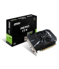 Carte graphique MSI GeForce GTX 1050 AERO ITX 2G OC GDDR5 Tunisie