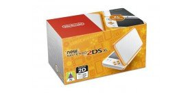 Console New 2DS XL Blanc + Orange