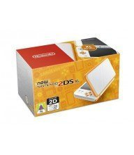 Console New 2DS XL Blanc + Orange Tunisie