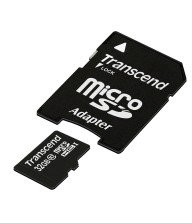 Carte mémoire Micro SD Secure Digital Trascend 32Go Tunisie