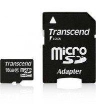 Carte mémoire Micro SD Secure Digital Trascend 16Go Tunisie
