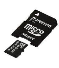 Carte mémoire Micro SD Secure Digital Trascend 8Go Tunisie