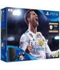 console ps4 slim 1 to +fifa 18 Tunisie