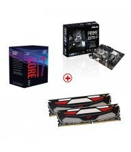 kit i7 8700 + z370-p + 16 Go ddr4 2400 Tunisie