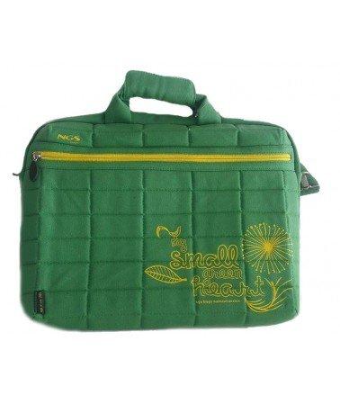 """sacoche NGS pour Pc Portable 15,6"""" Vert pour femme"""