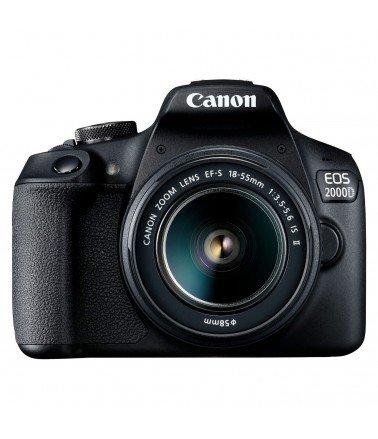 Appareil reflex numérique Canon EOS 2000D+ OBJECTIF 18-55 DC