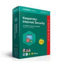 Kaspersky Internet Security 2019 3 postes 1 an Tunisie