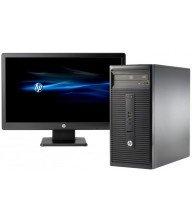 Pc de bureau HP 280 G1 Dual Core 2Go 500Go + Ecran 20'' Tunisie