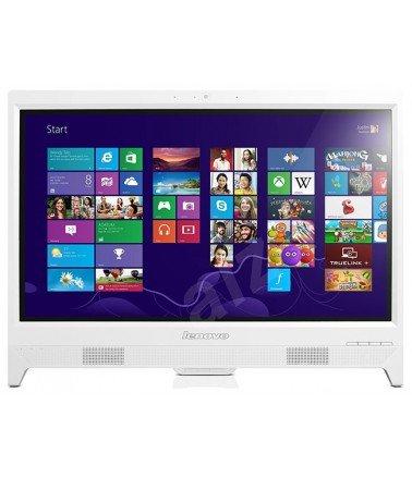 Pc de Bureau Lenovo All in One C260 Blanc Non Tactile J2900 4Go 500Go 19,5