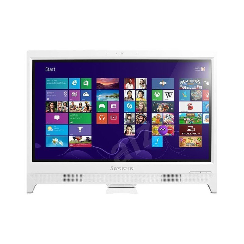 pc de bureau lenovo all in one c260 quad core 4go 500go non tactile blanc chez wiki tunisie. Black Bedroom Furniture Sets. Home Design Ideas