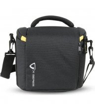 Vanguard VK 22BK Shoulder Bag in Nylon/Polyester, Rain Cover, Black Tunisie
