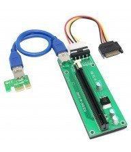 Carte Riser PCI-E 1 X vers 16