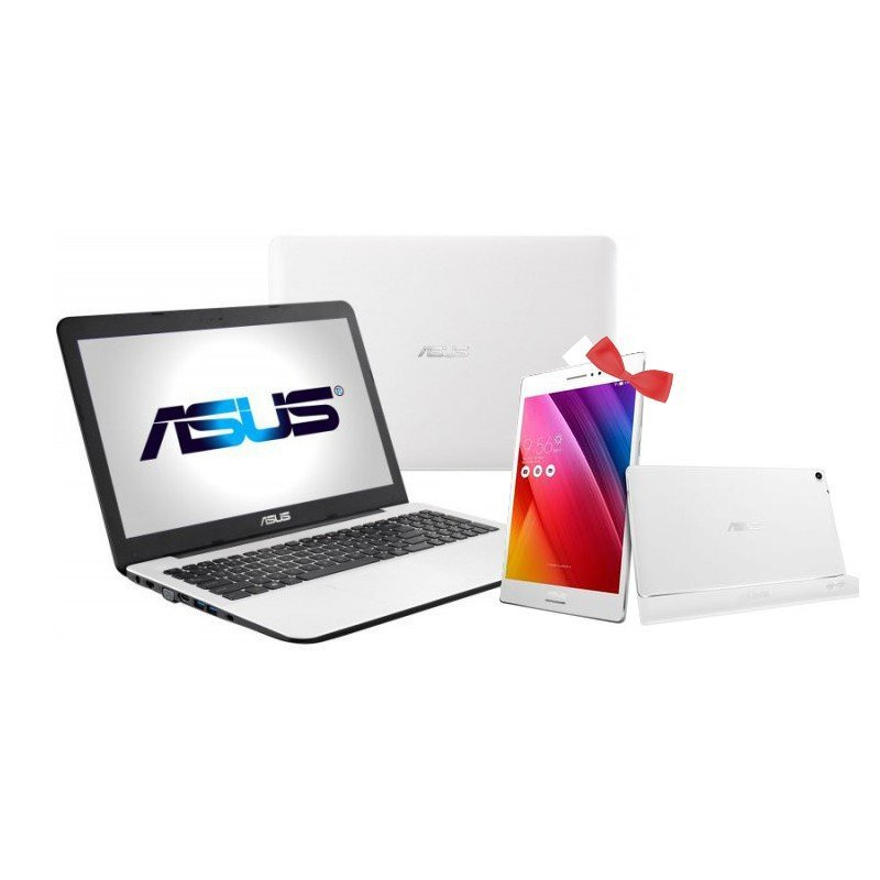 pc portable asus x555 i3 blanc ordinateur asus tunisie. Black Bedroom Furniture Sets. Home Design Ideas