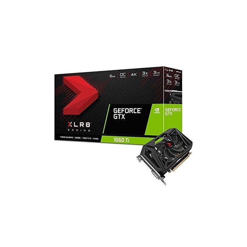 Carte graphique GeForce GTX 1660 XLR8 Gaming Overclocked