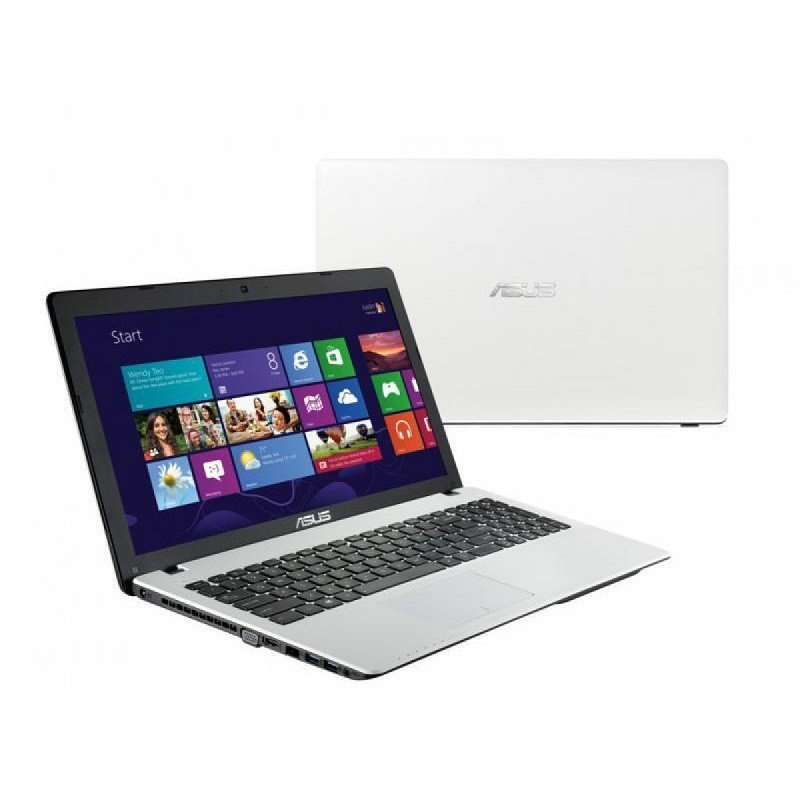 pc portable asus x554la i3 4go 500go blanc chez wiki tunisie. Black Bedroom Furniture Sets. Home Design Ideas